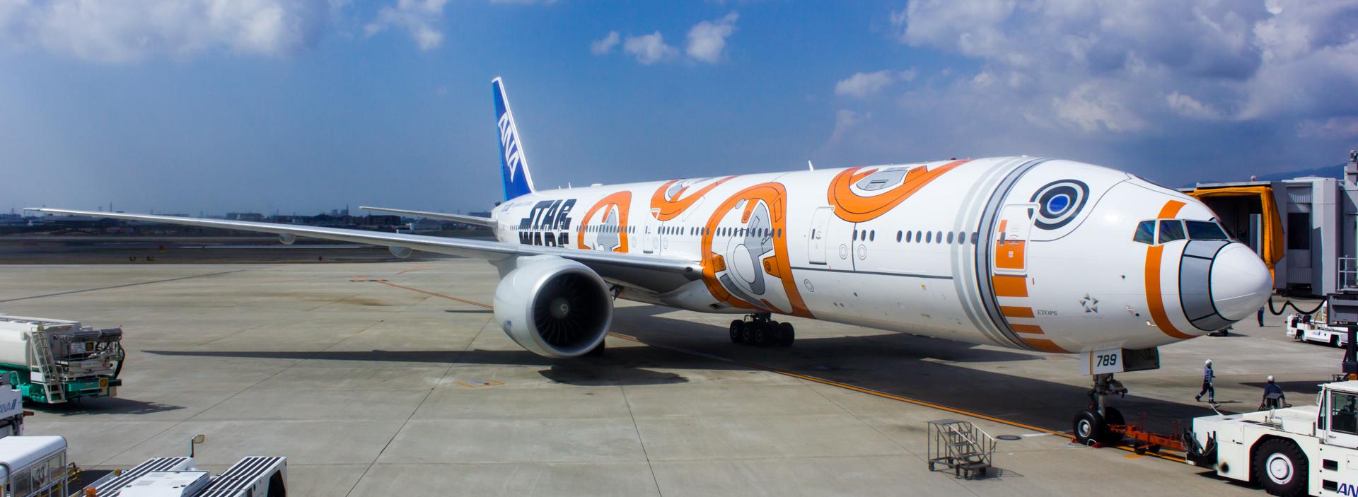Star Wars BB-8™ ANA Jet Pt. 2: The Inaugural