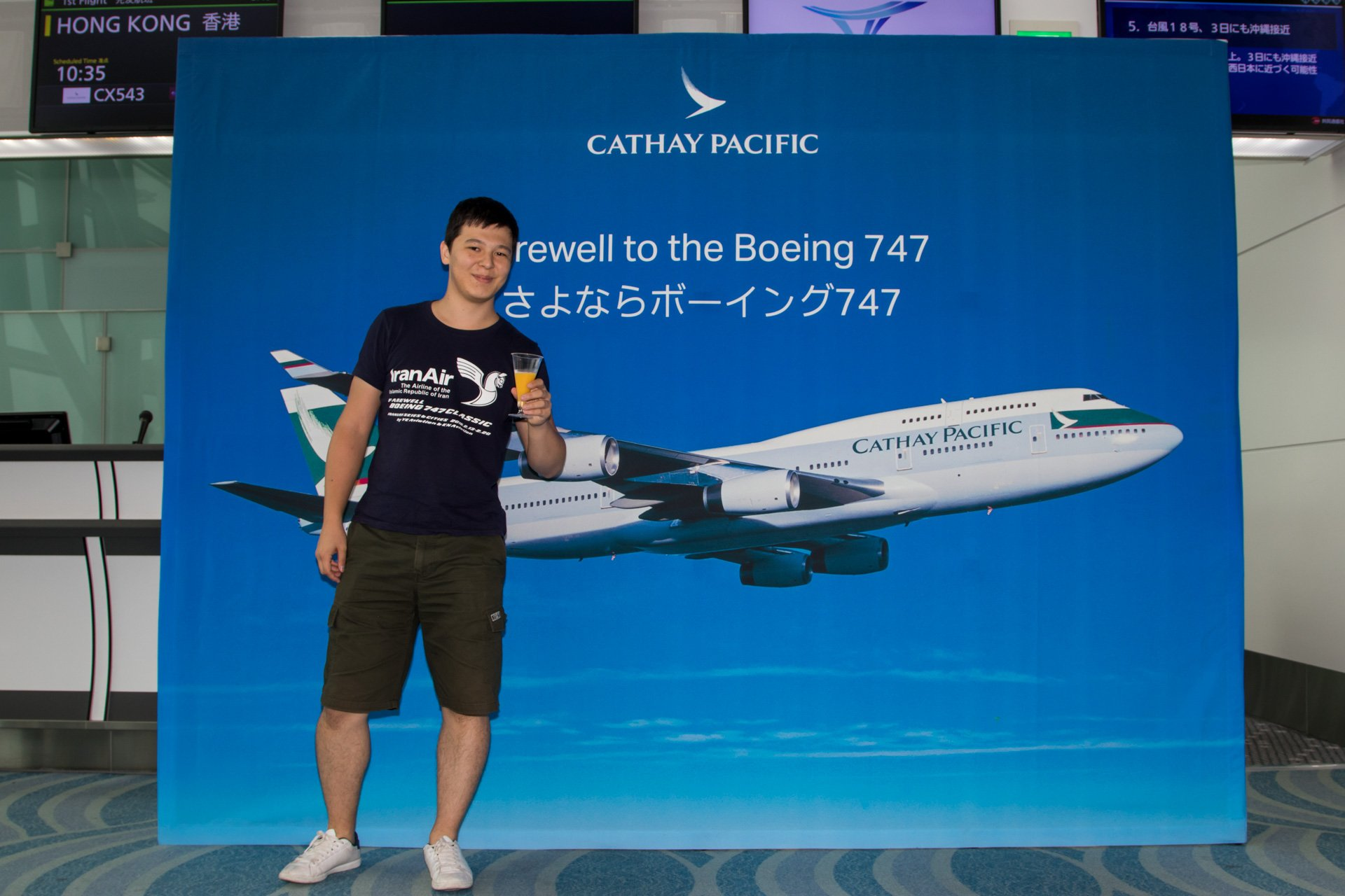 Cathay Pacific 747
