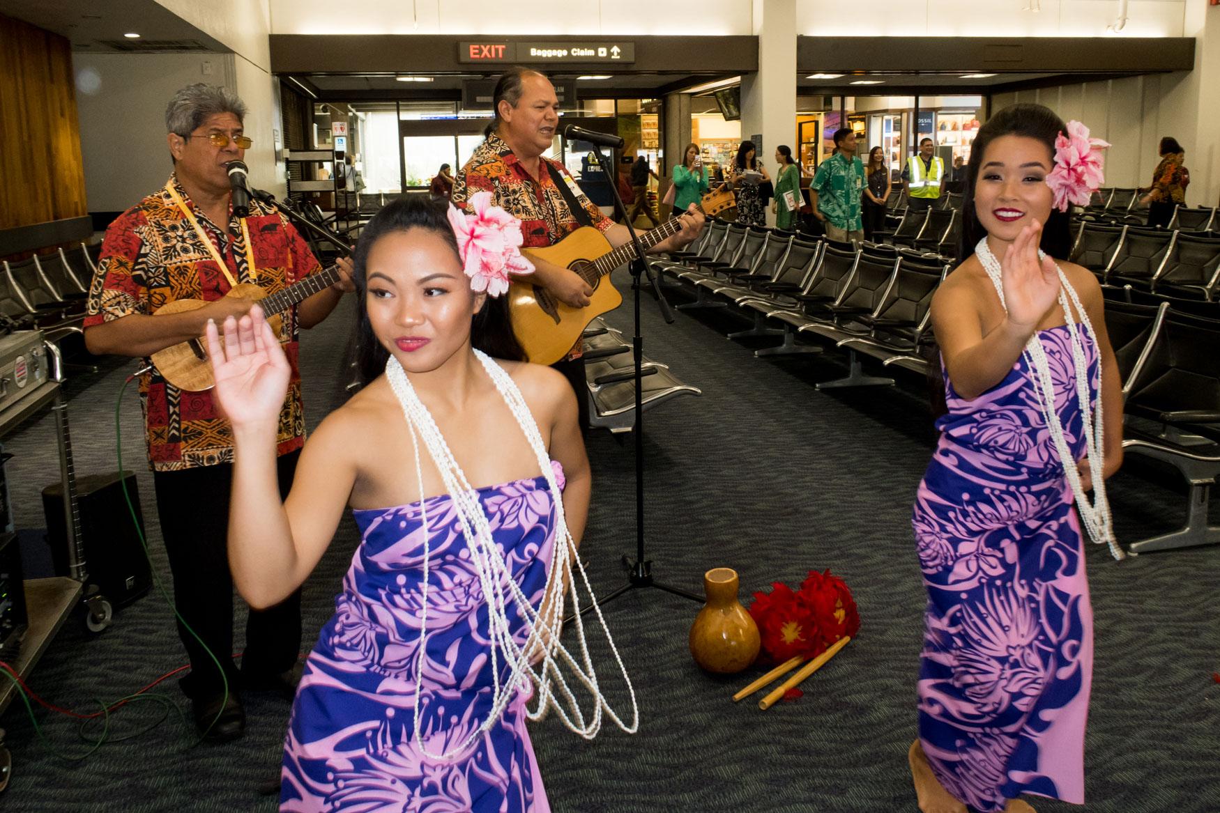 AirAsia X Honolulu Welcome