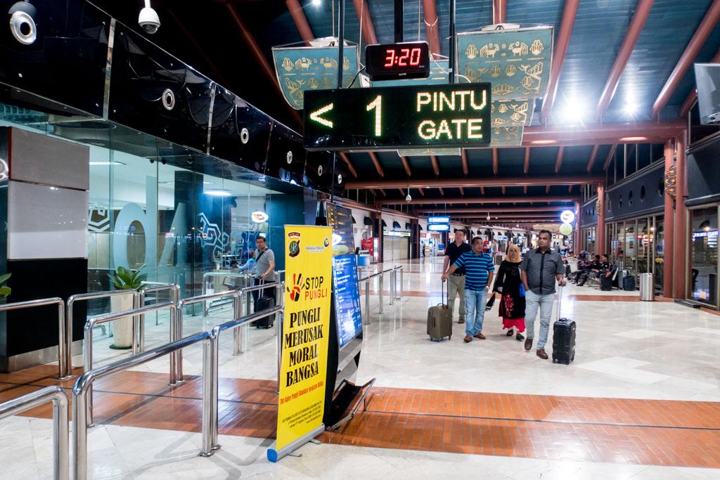 Jakarta Terminal 2 Security Check