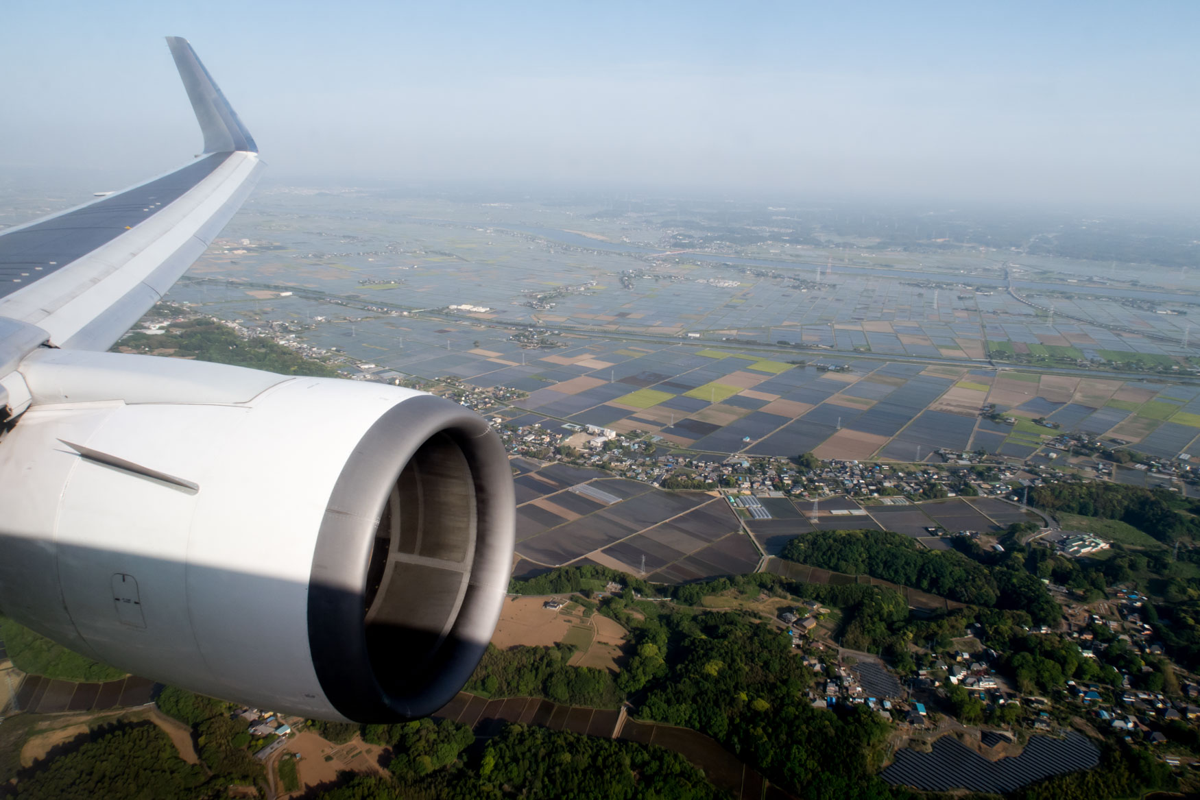 Approaching Tokyo Narita