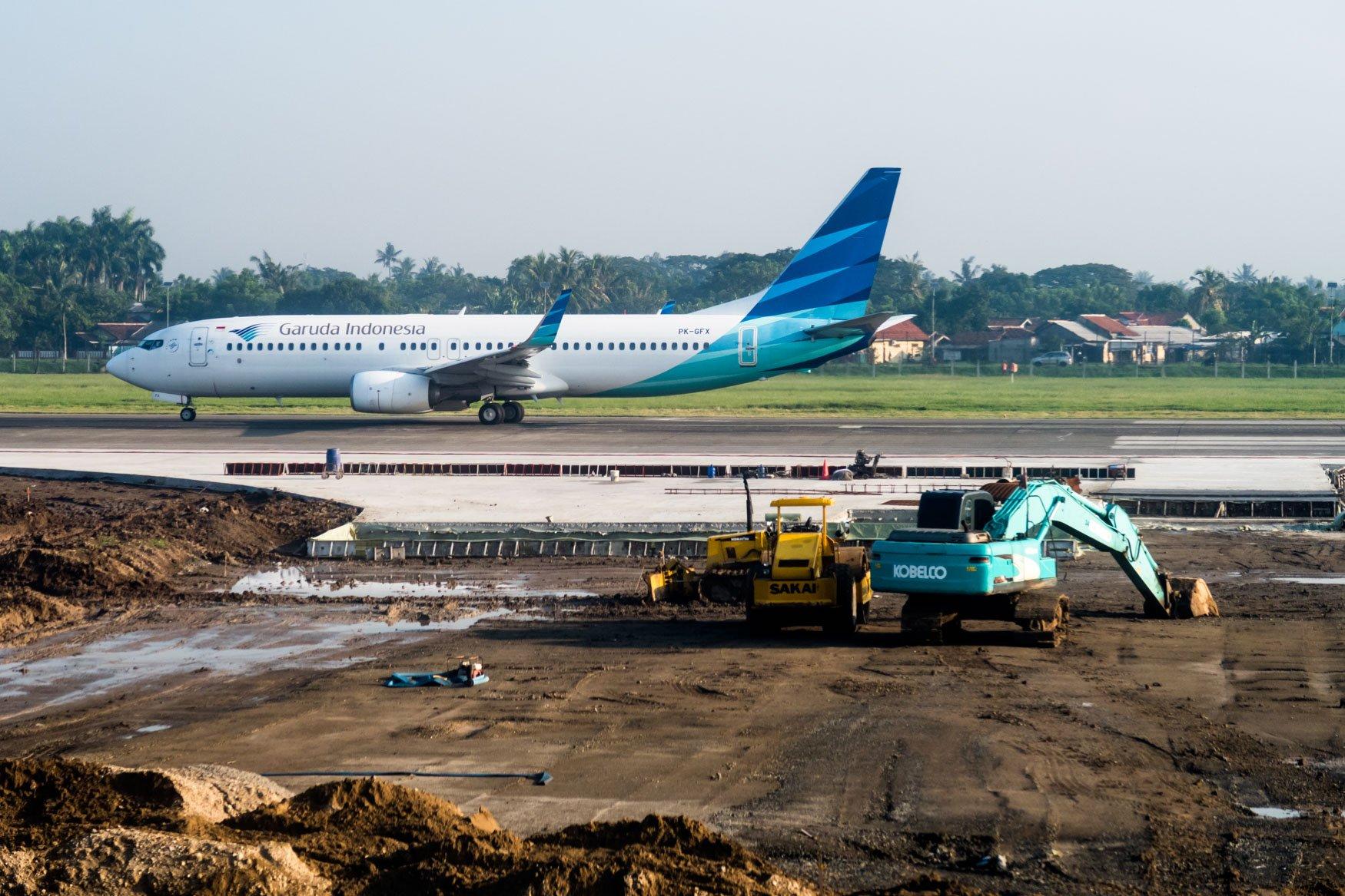 Jakarta Airport Construction and Garuda Indonesia