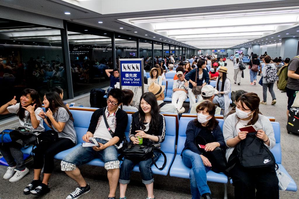 AirAsia X Osaka to Honolulu Boarding