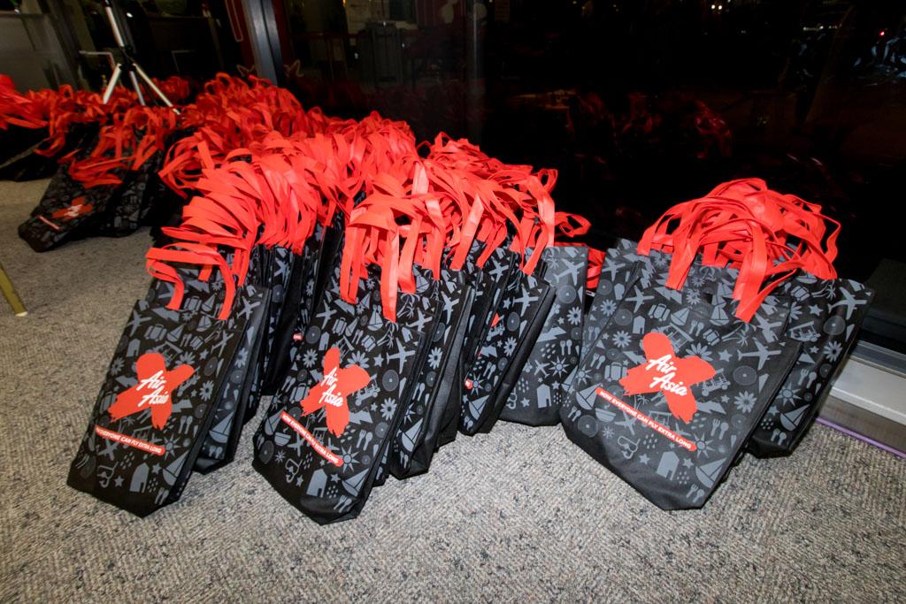 AirAsia X Inaugural to Honolulu Gift Bags