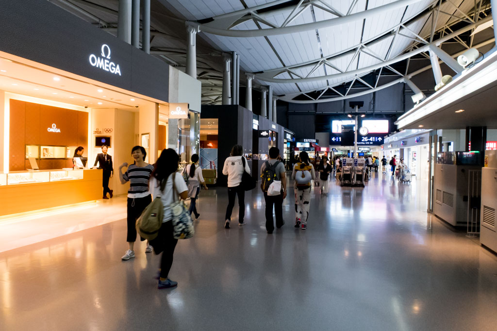 Osaka Airport Airside