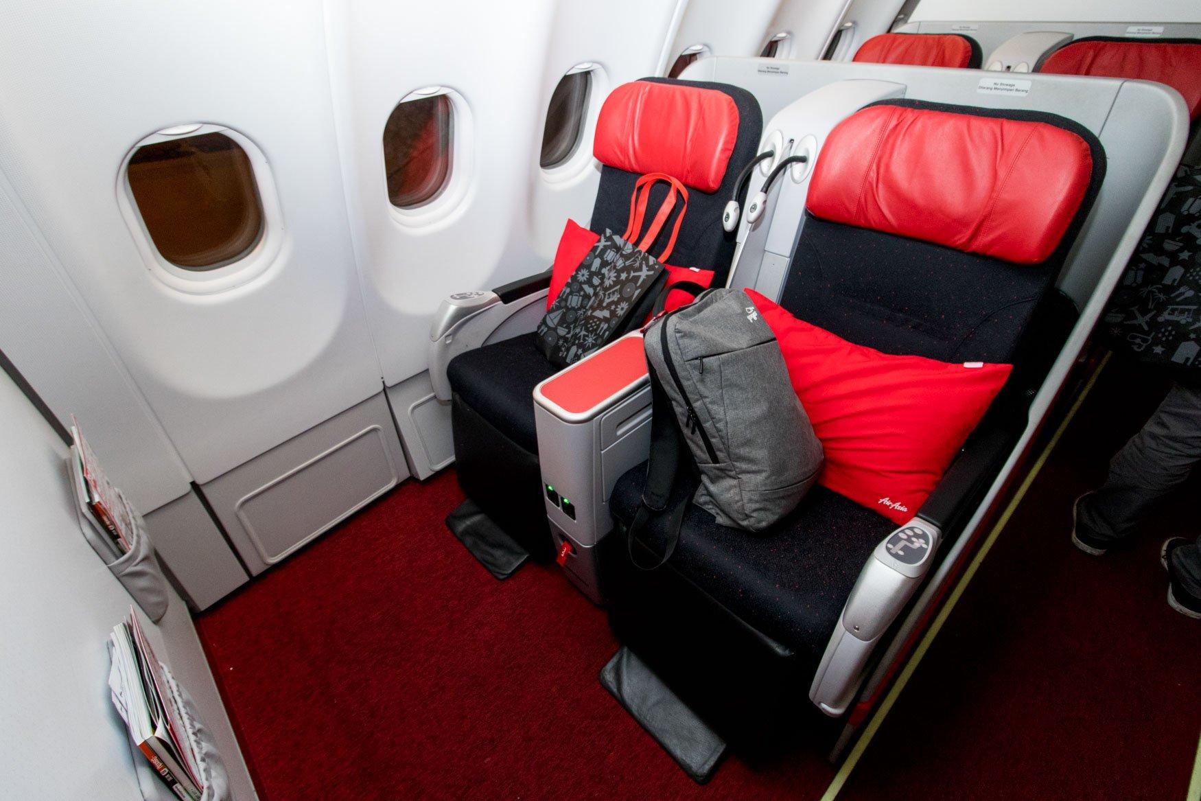 AirAsia X Premium Flatbed Seat
