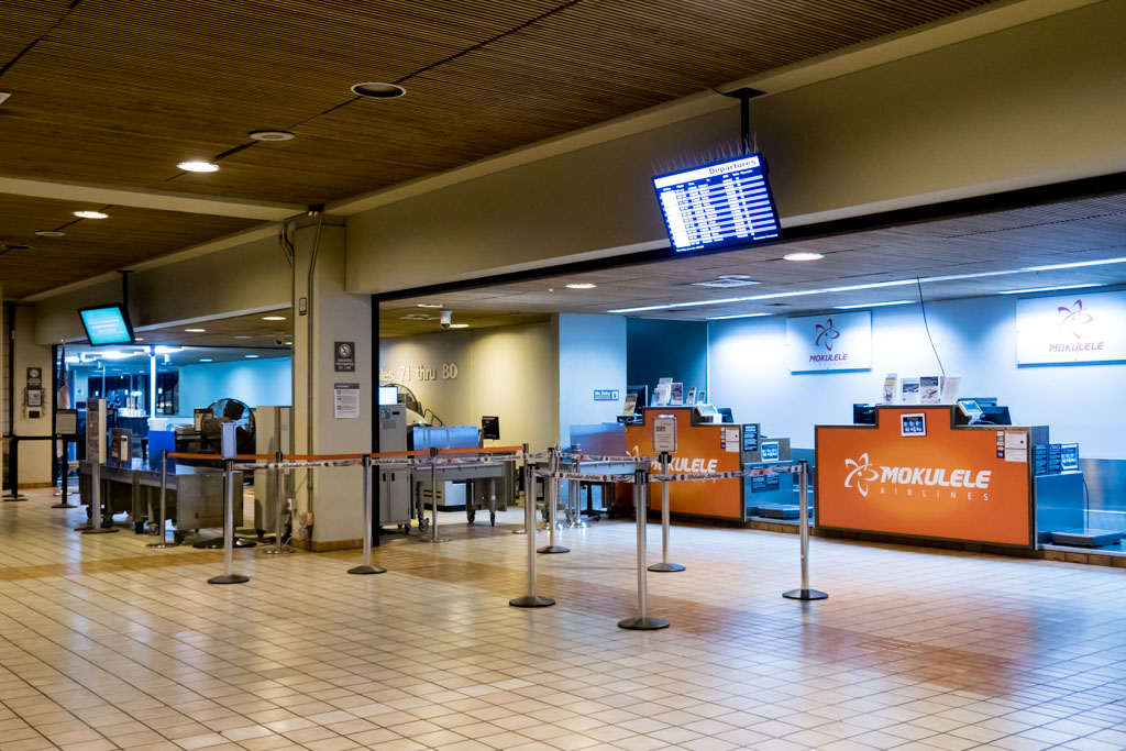 Commuter Terminal Interior