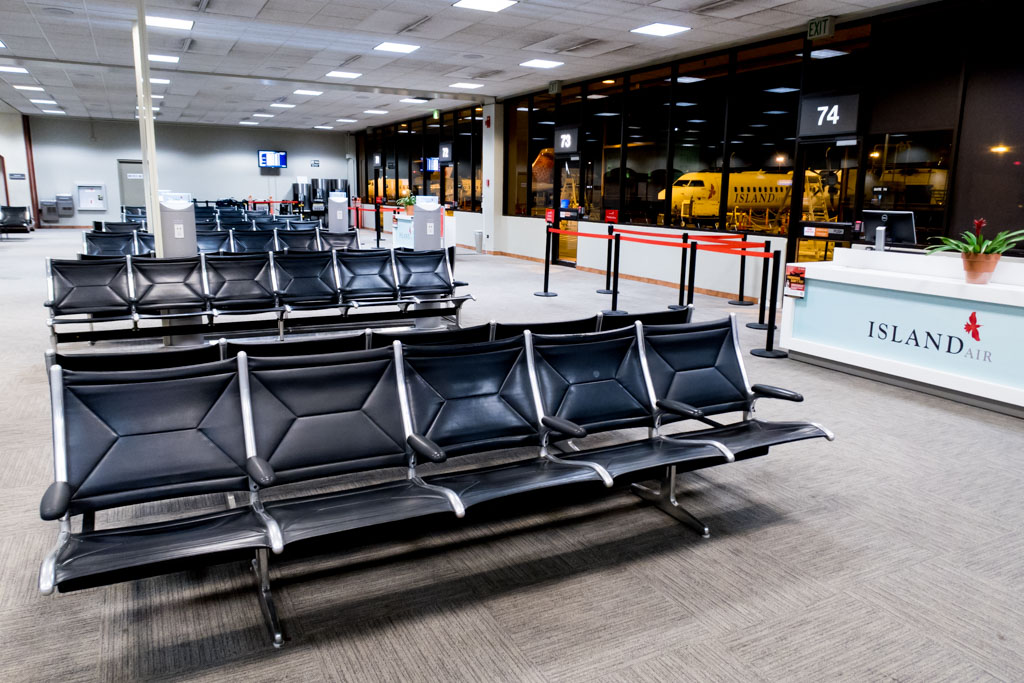 Honolulu Airport Commuter Terminal Airside