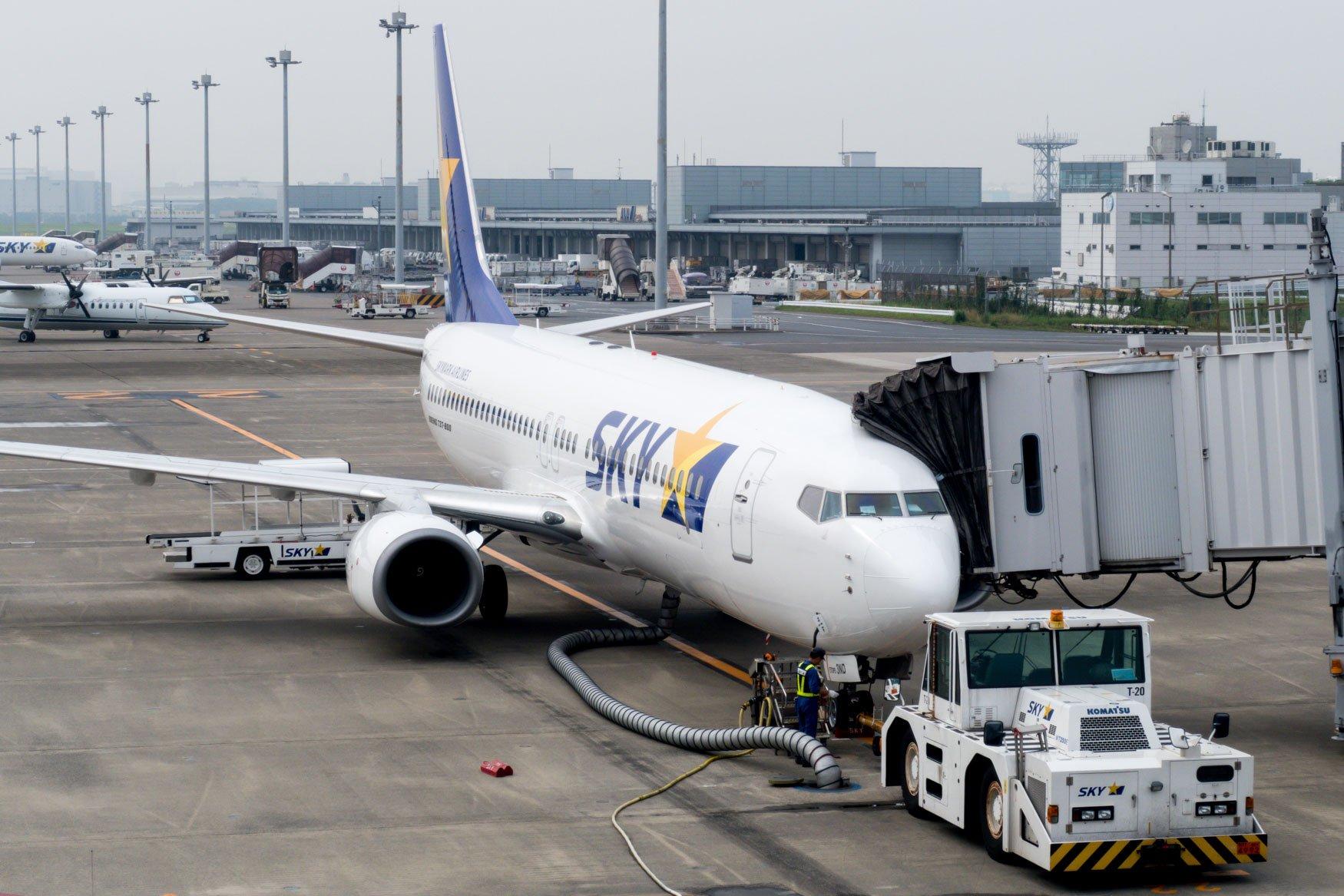 Skymark Airlines 737-800