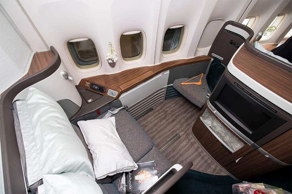 Cathay Airways First Class