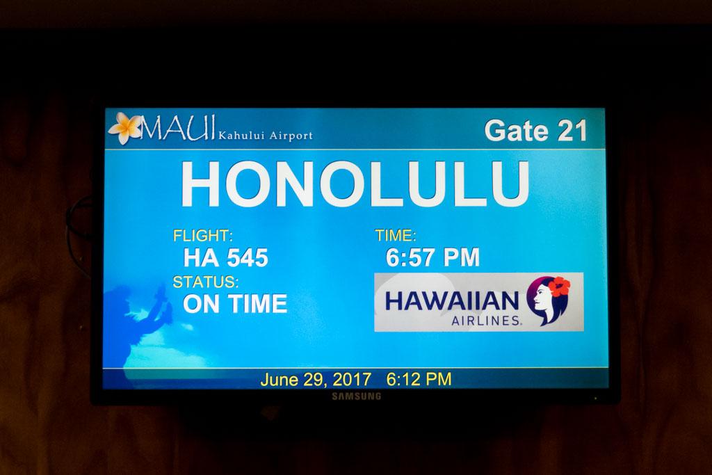 Hawaiian Airlines Flight HA545