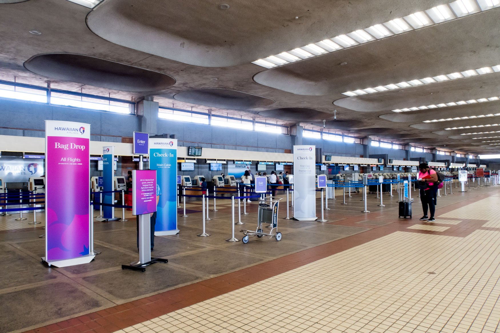 Kahului Airport Hawaiian Airlines Check-In