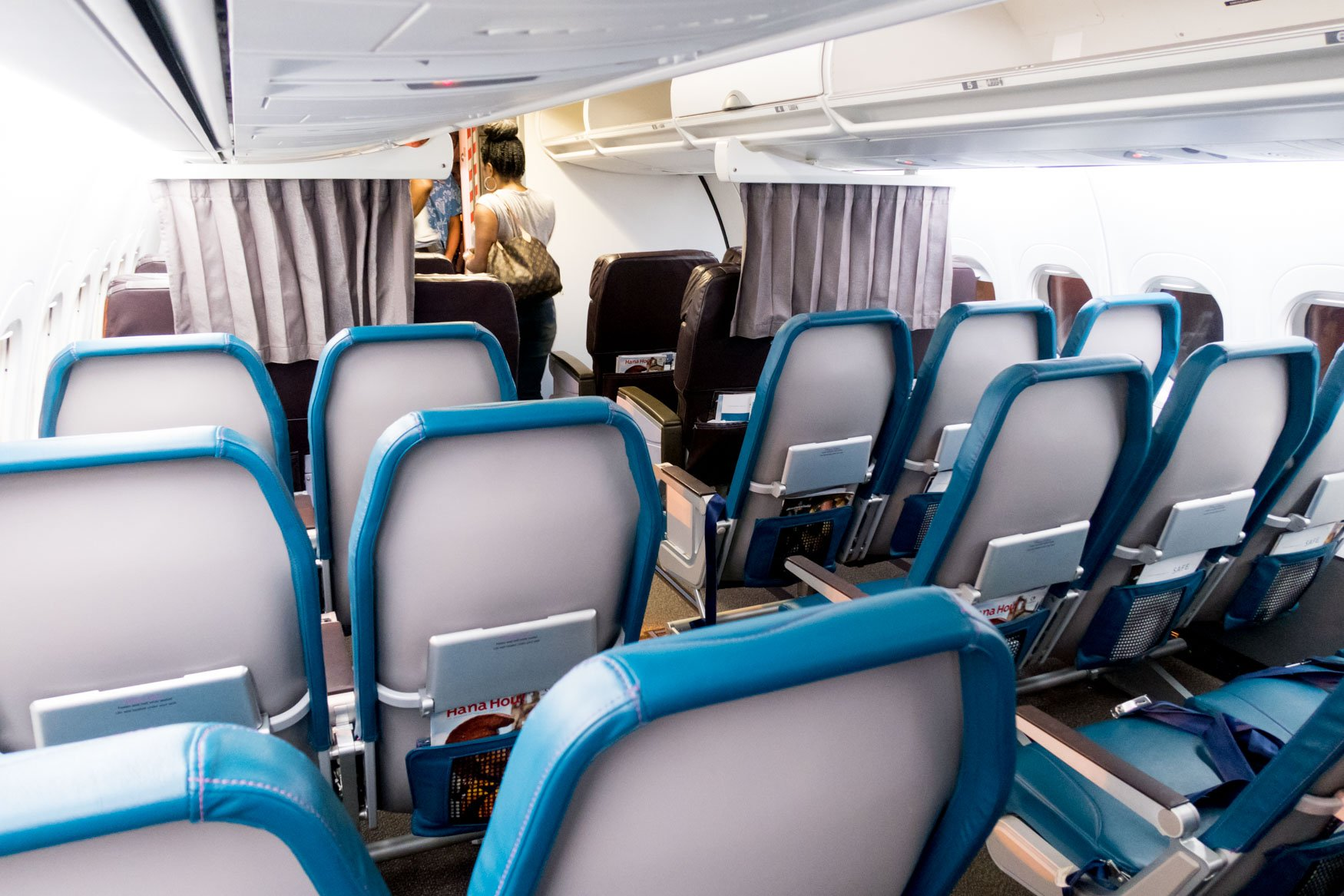 Hawaiian Airlines 717 Cabin