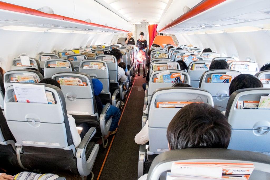 Jetstar A320 Cabin