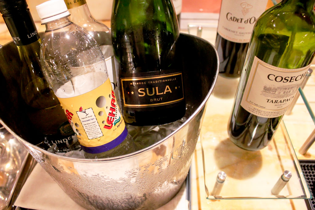"""""""Sula"""" Indian sparkling wine"""