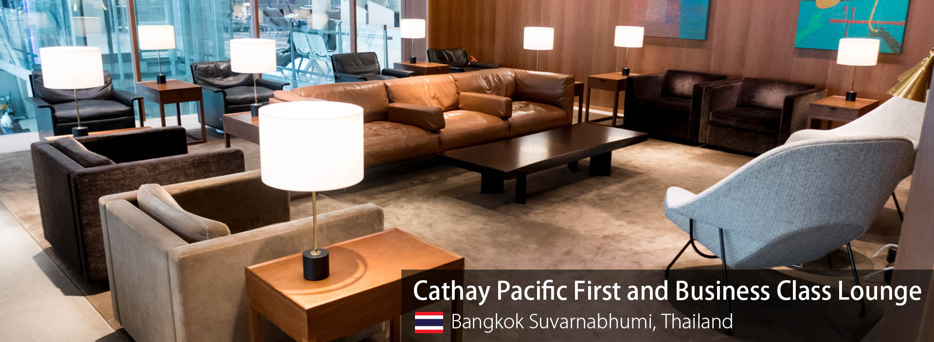 Lounge Review: Cathay Pacific First and Business Class Lounge at Bangkok Suvarnabhumi