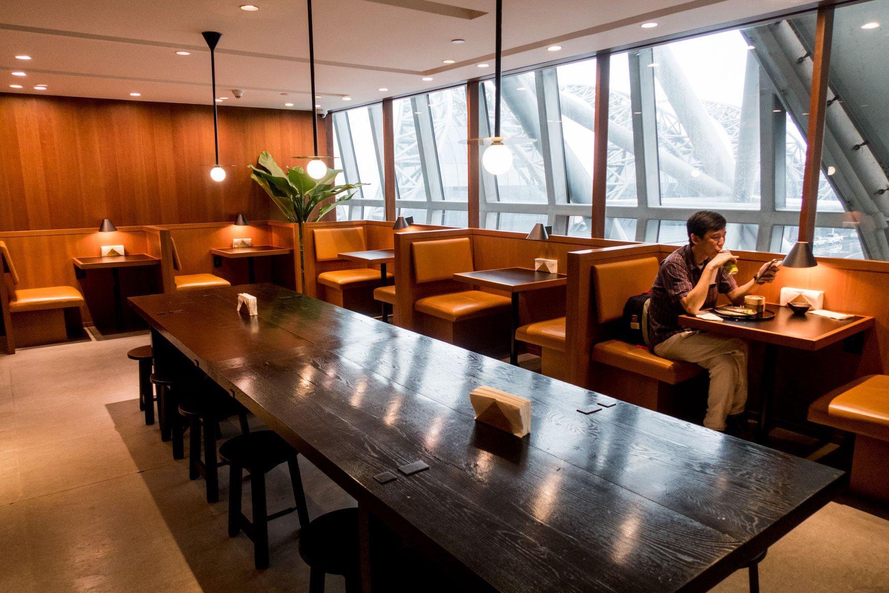 Noodle Bar Seating