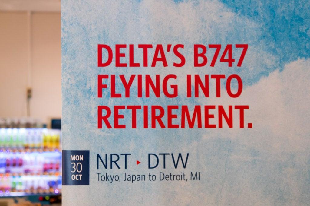 Delta's B747 Flying into Retirement
