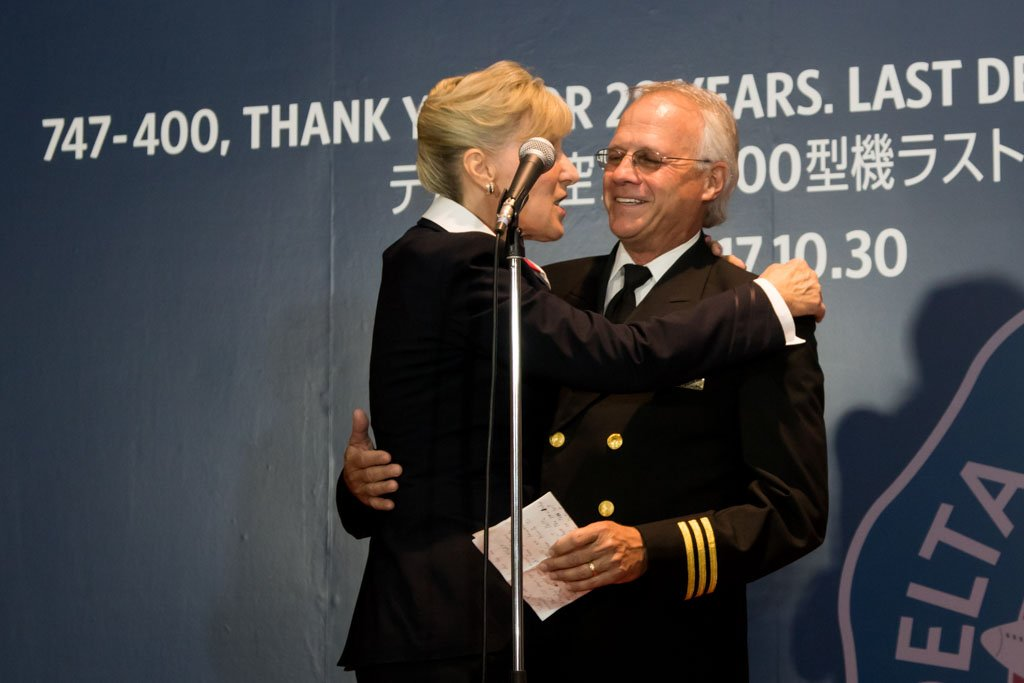 First Officer with Wife