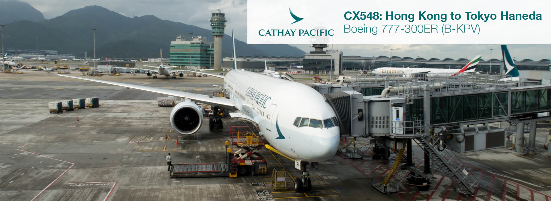Flight Review: Cathay Pacific 777-300ER First Class from Hong Kong to Tokyo HND