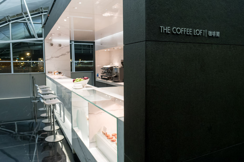 """""""The Coffee Loft"""" at Cathay Pacific """"The Wing, Business"""""""