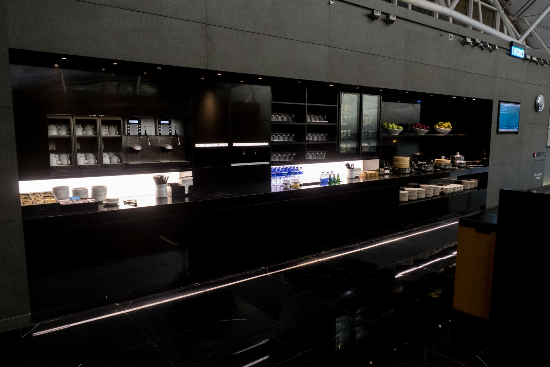 """Cathay Pacific """"The Wing, Business"""" Buffet"""