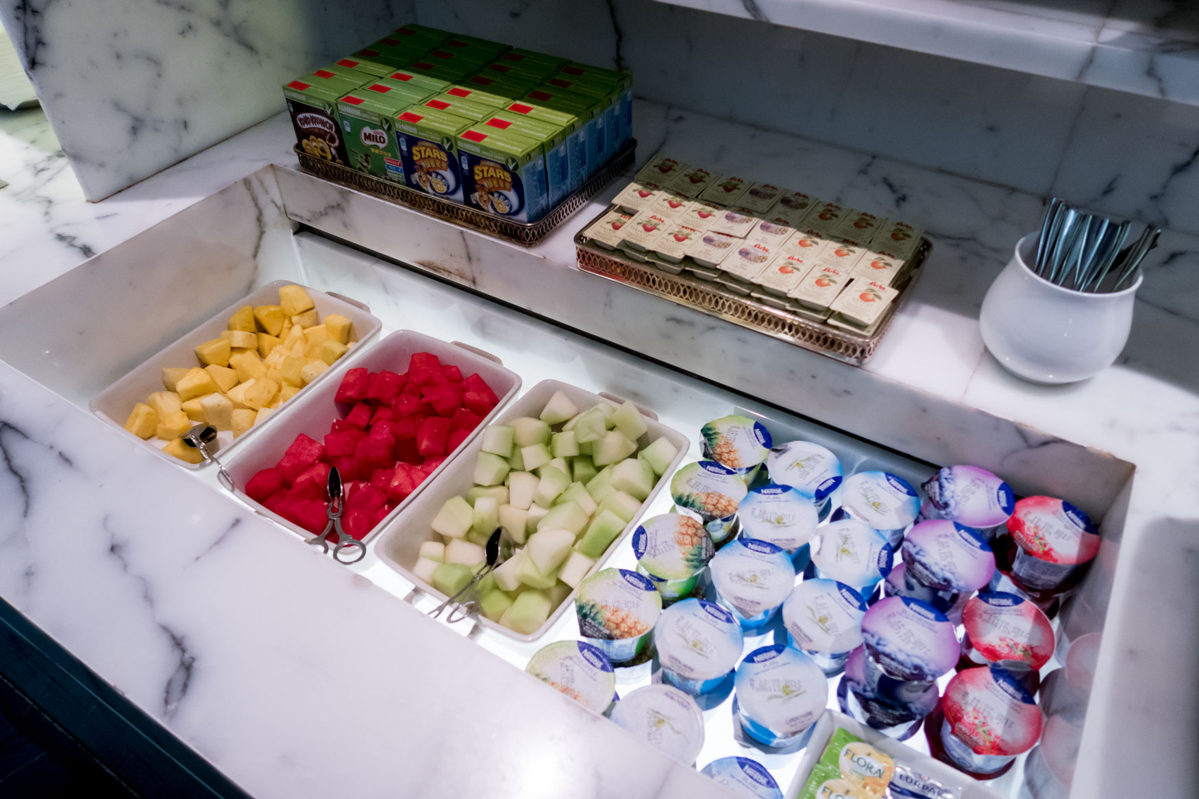 Fruits and Yoghurts