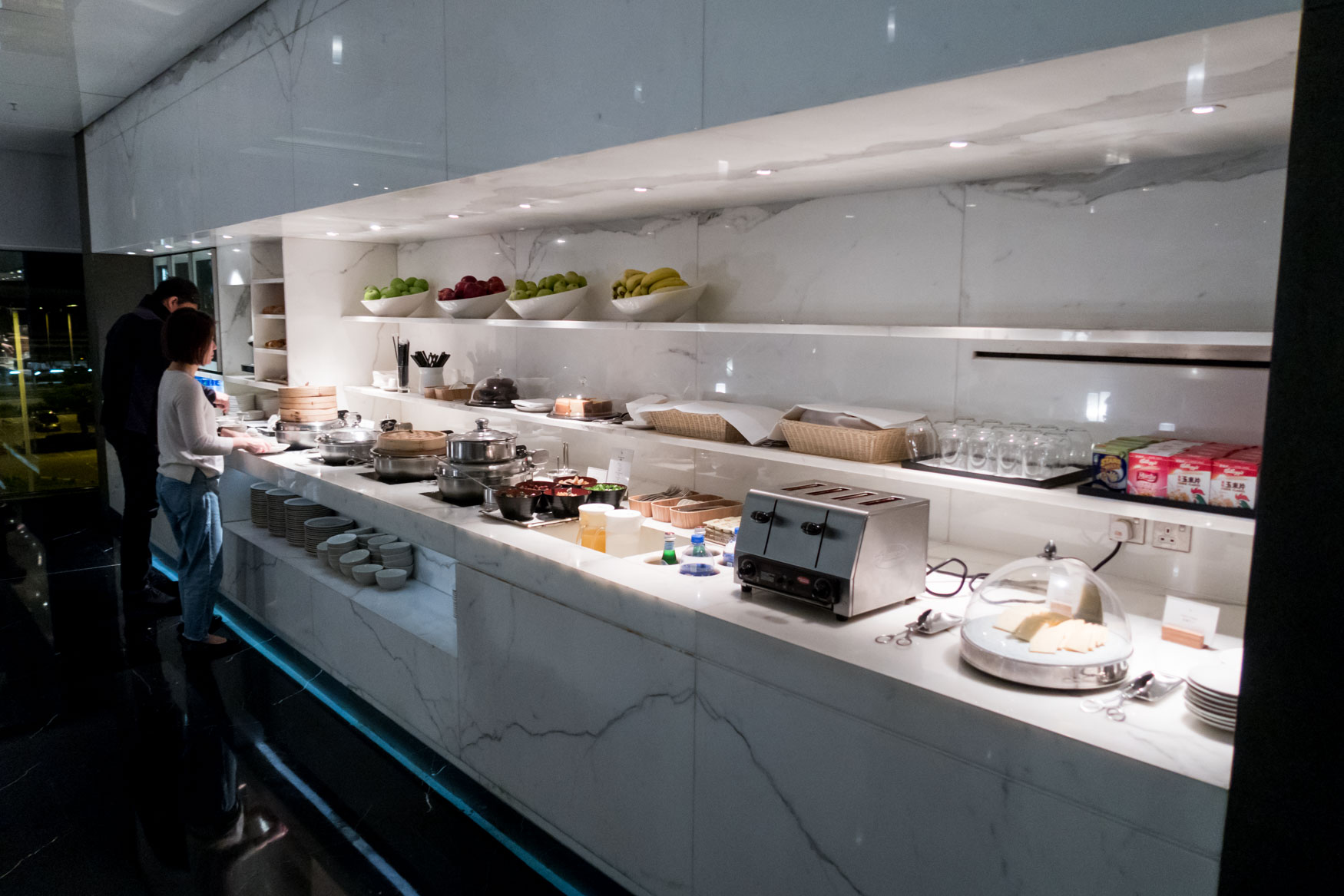 Lower Level Buffet Counter