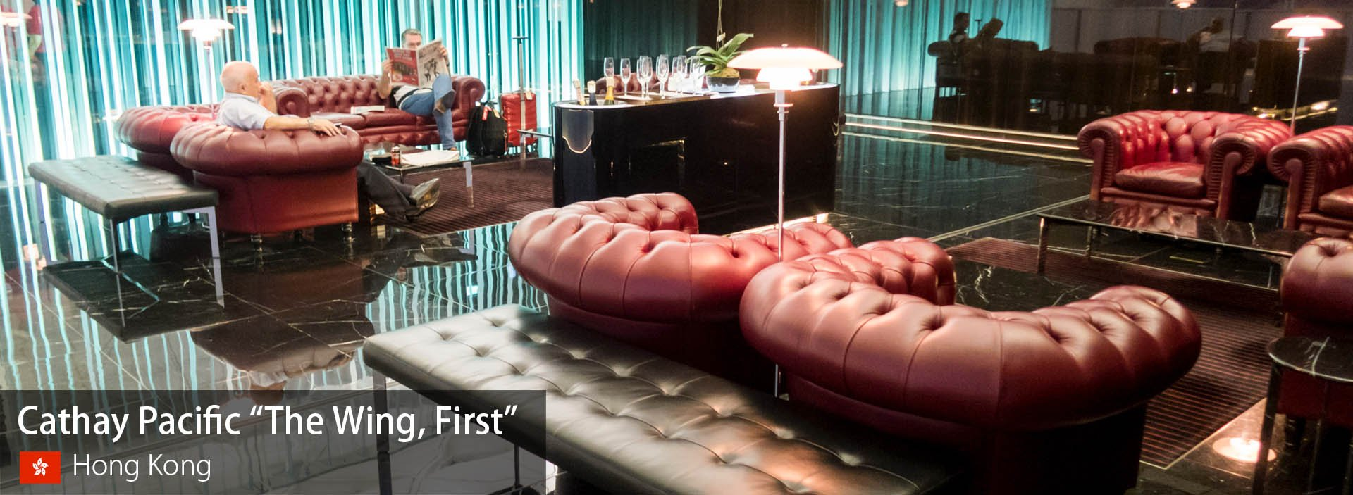 """Lounge Review: Cathay Pacific """"The Wing, First"""" at Hong Kong International"""