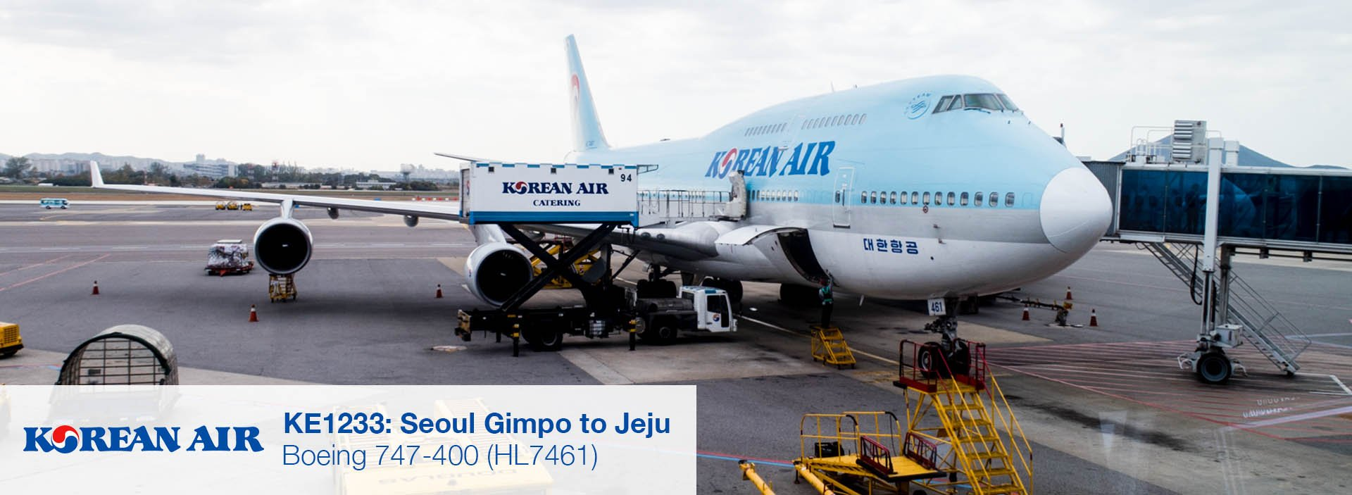 Flight Review: Korean Air 747-400 Economy Class from Seoul Gimpo to Jeju