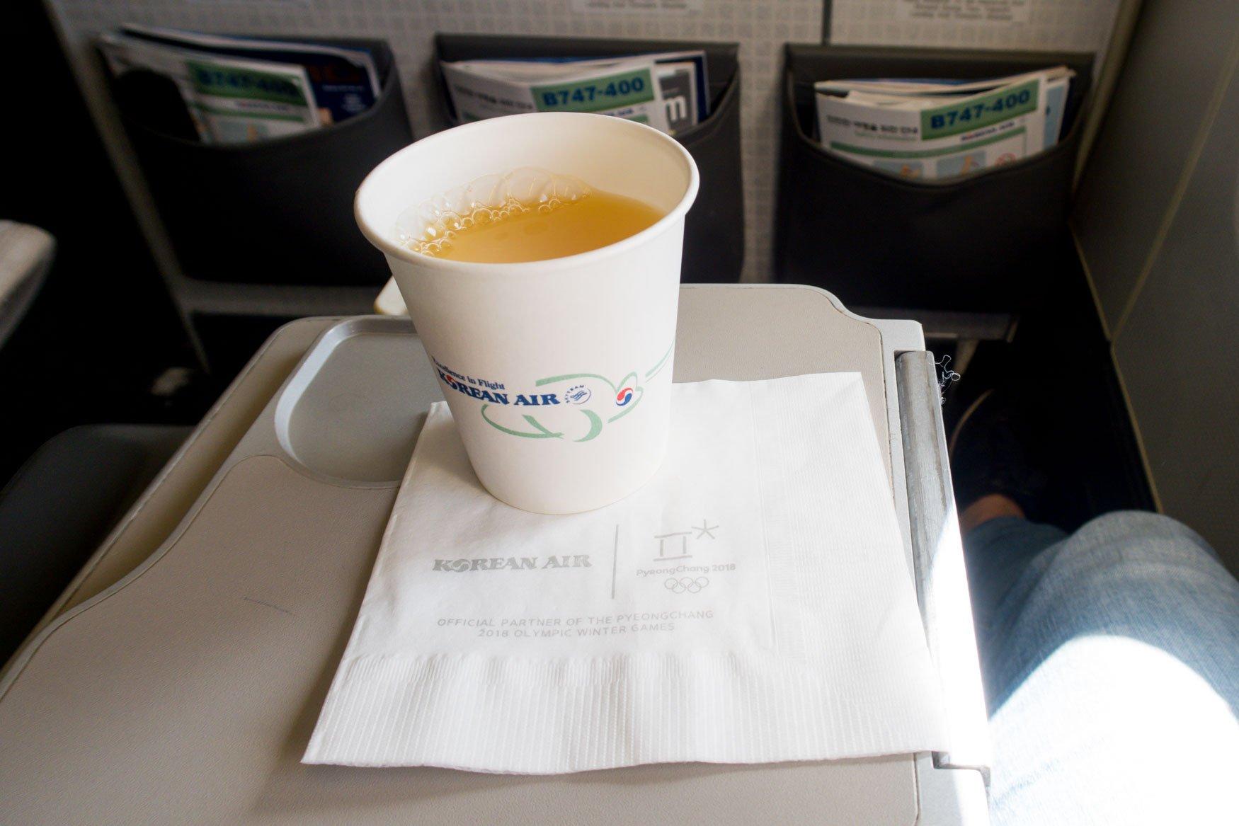 Korean Air Drink