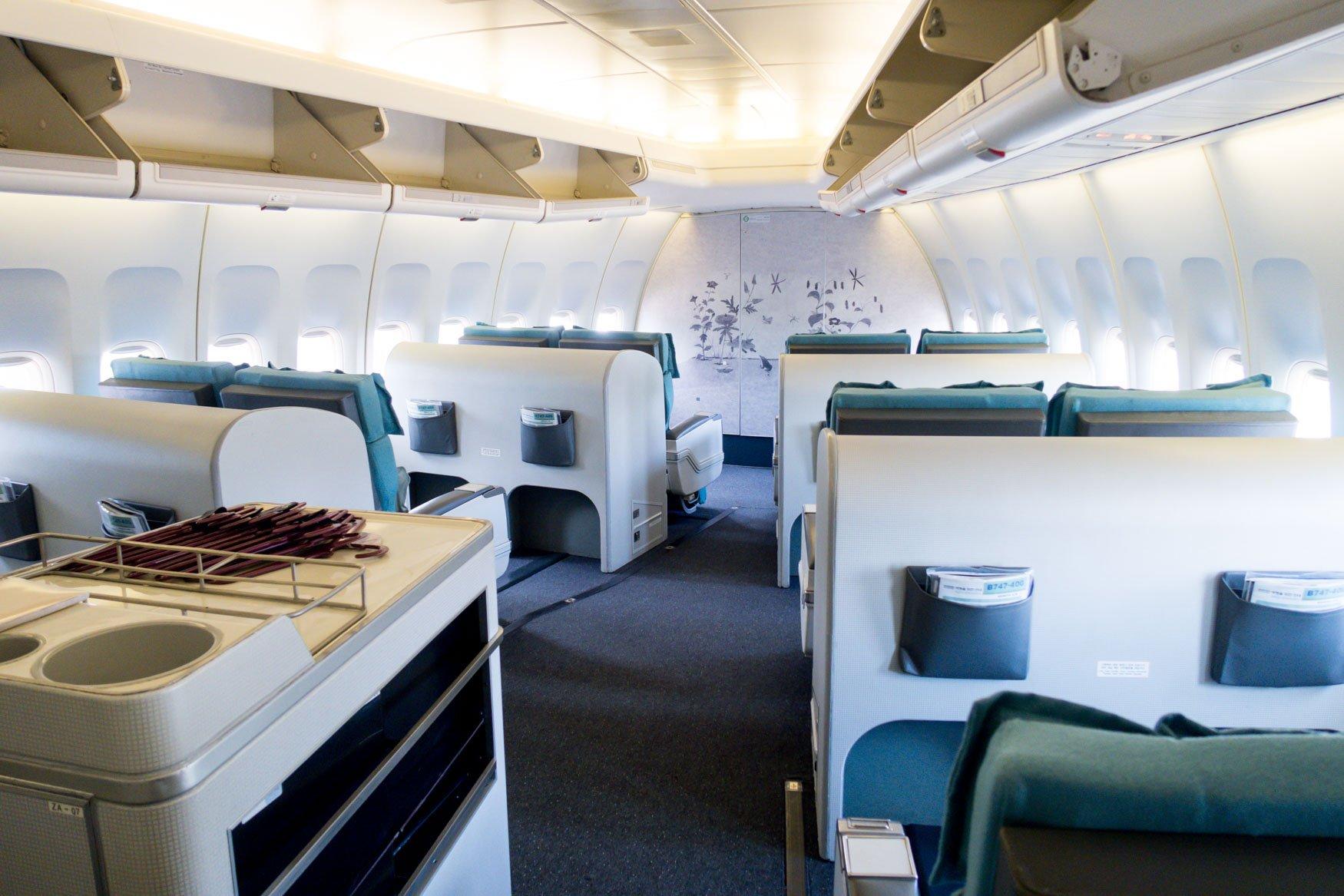 Korean Air 747-400 First Class