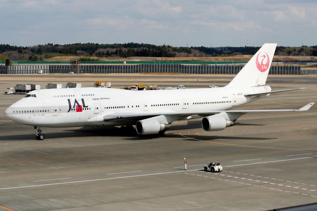 JAL Japan Airlines Boeing 747-400