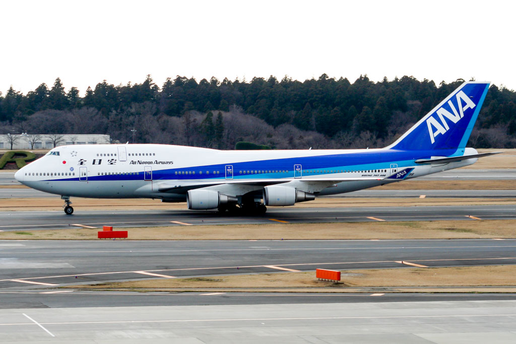 ANA Boeing 747-400