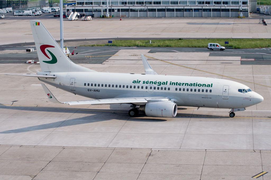 Air Senegal Boeing 737 at Paris Orly