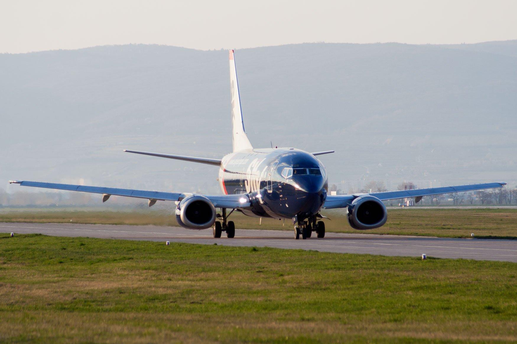 SkyEurope Airlines 737-500 at Bratislava
