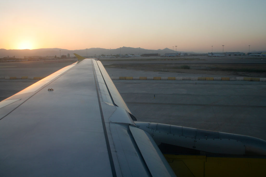 Vueling A320 Wing
