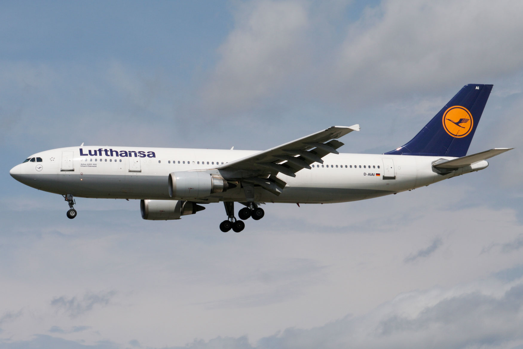 Lufthansa A300 at Frankfurt