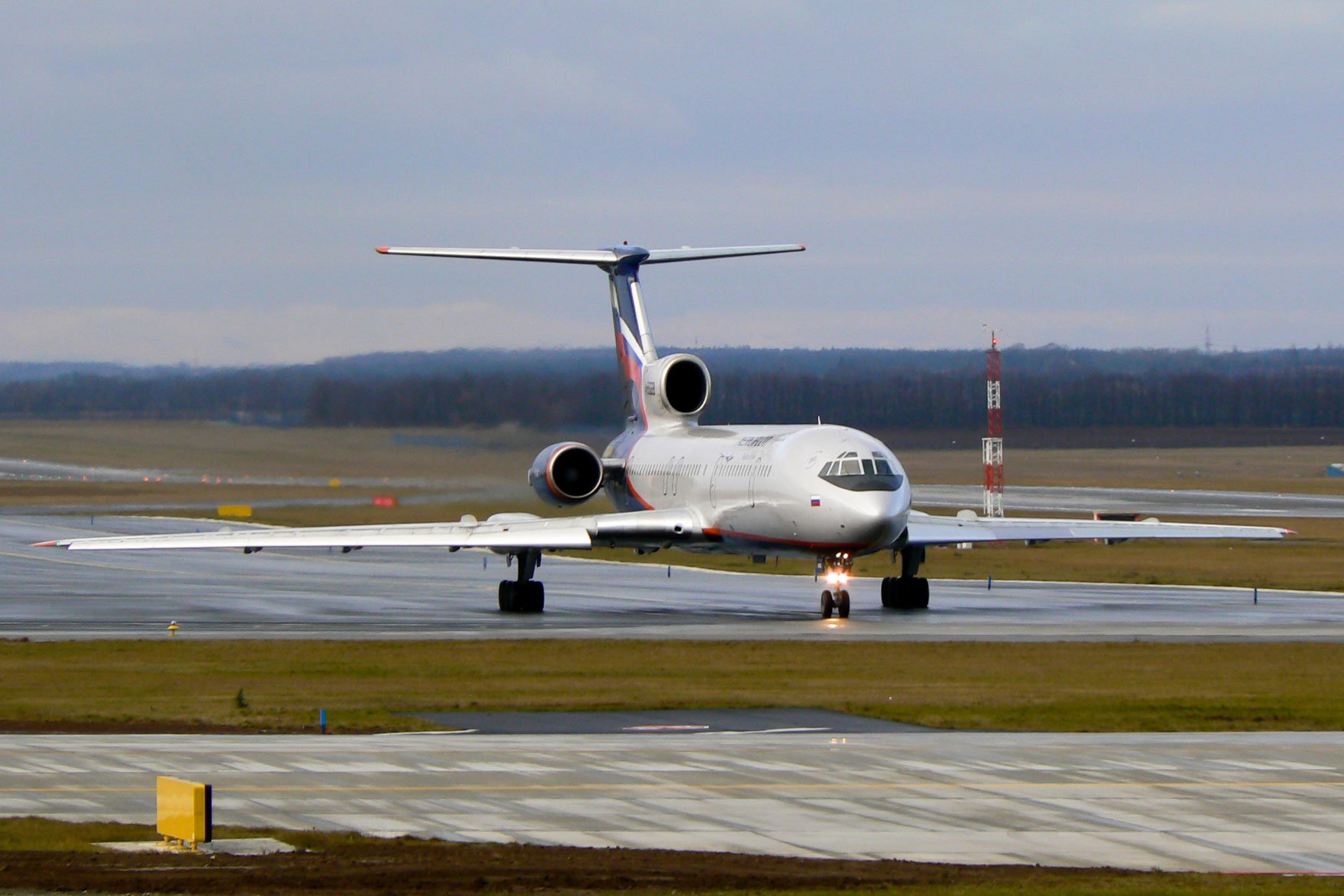 Aeroflot Tupolev Tu-154 Prague