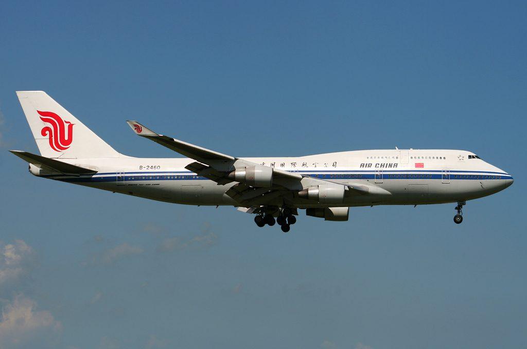 Air China Boeing 747-400