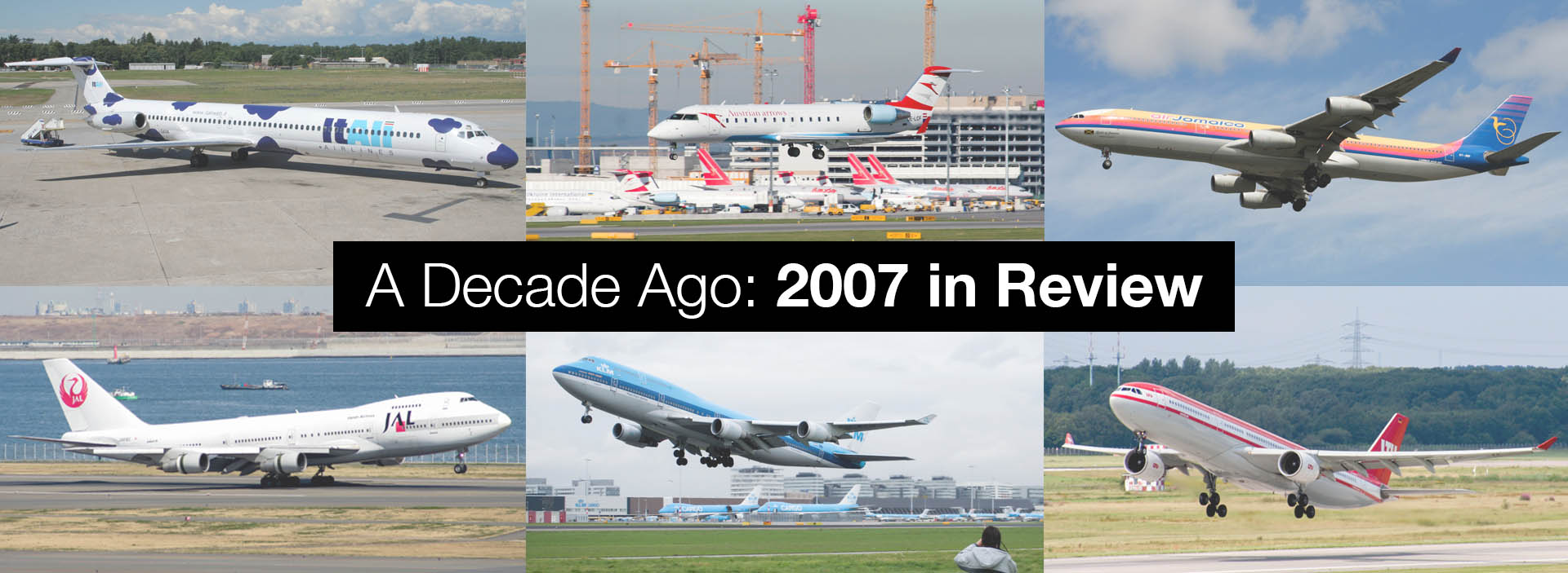 A Decade Ago - 2007 in Review: My First DSLR & A Year of Euro Spotting Trips