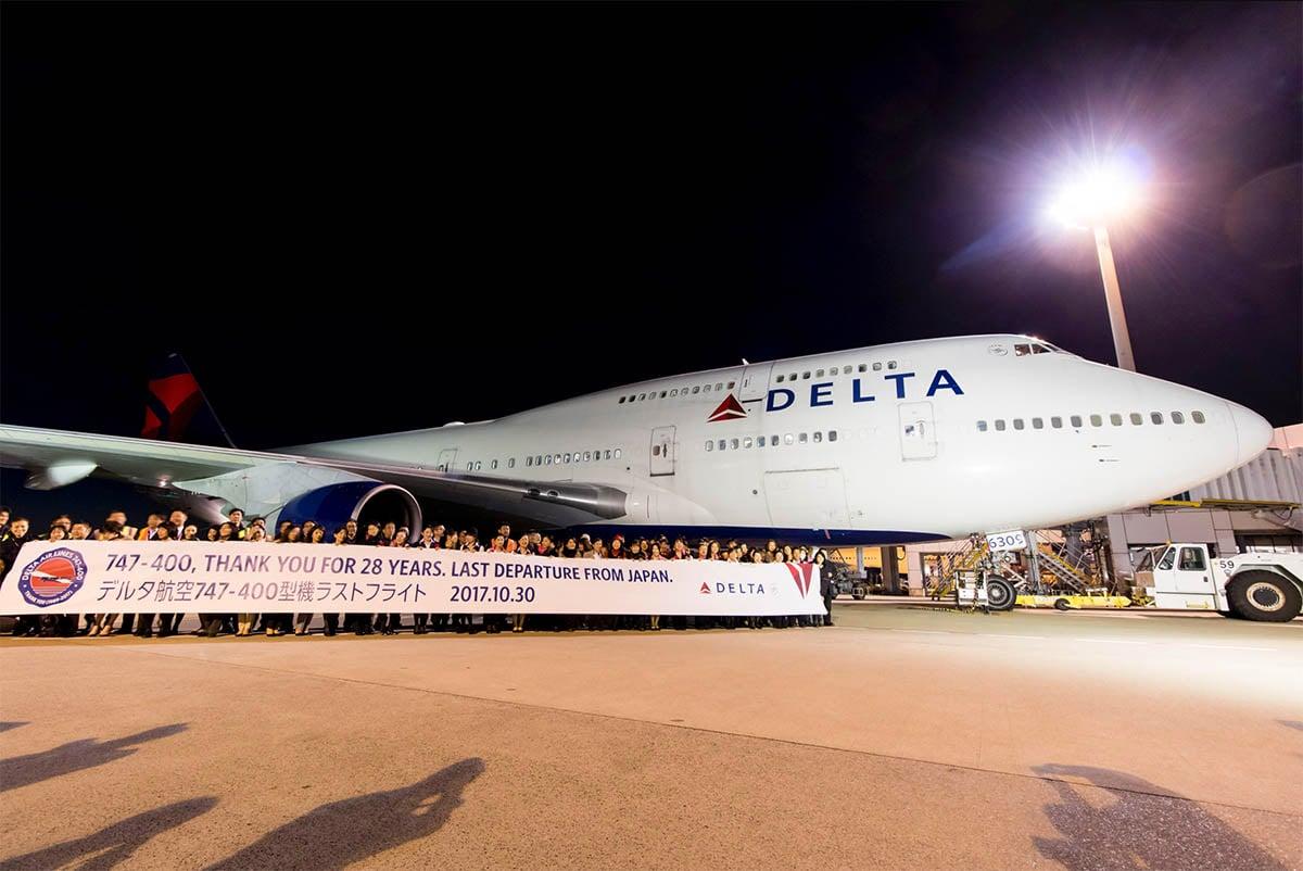 Delta Air Lines Boeing 747-400