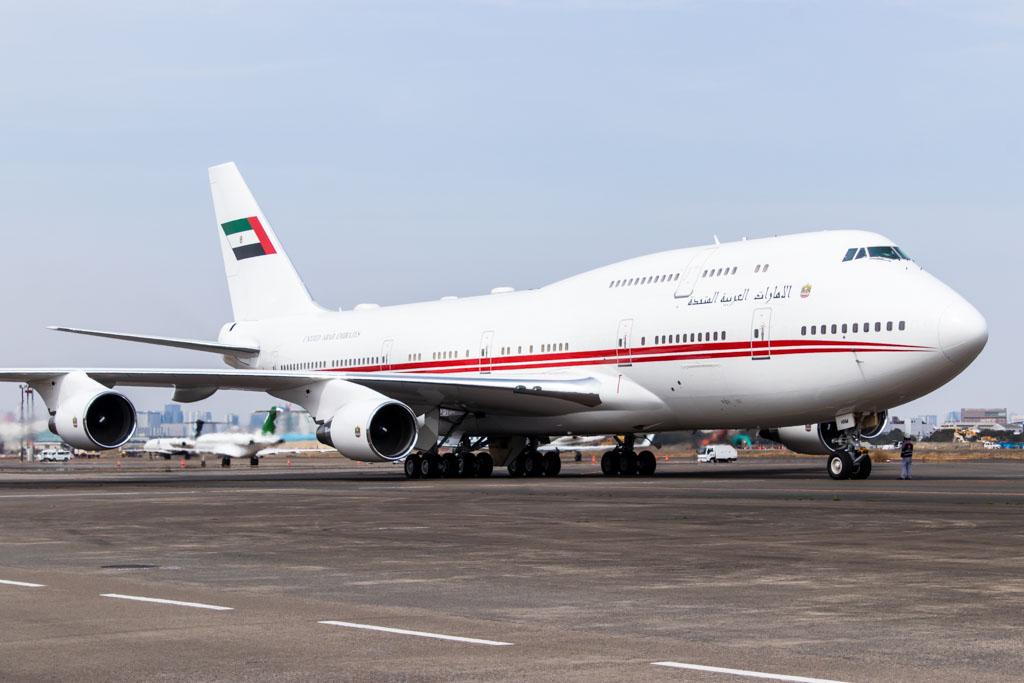 Dubai Air Wing Boeing 747-400
