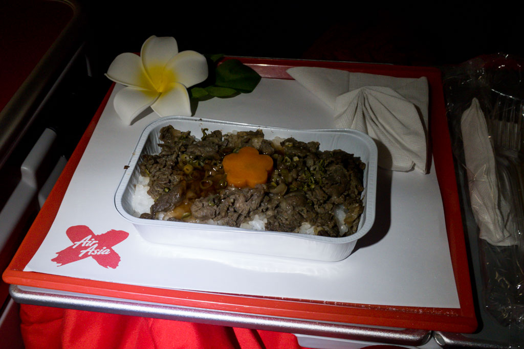 AirAsia X Meal