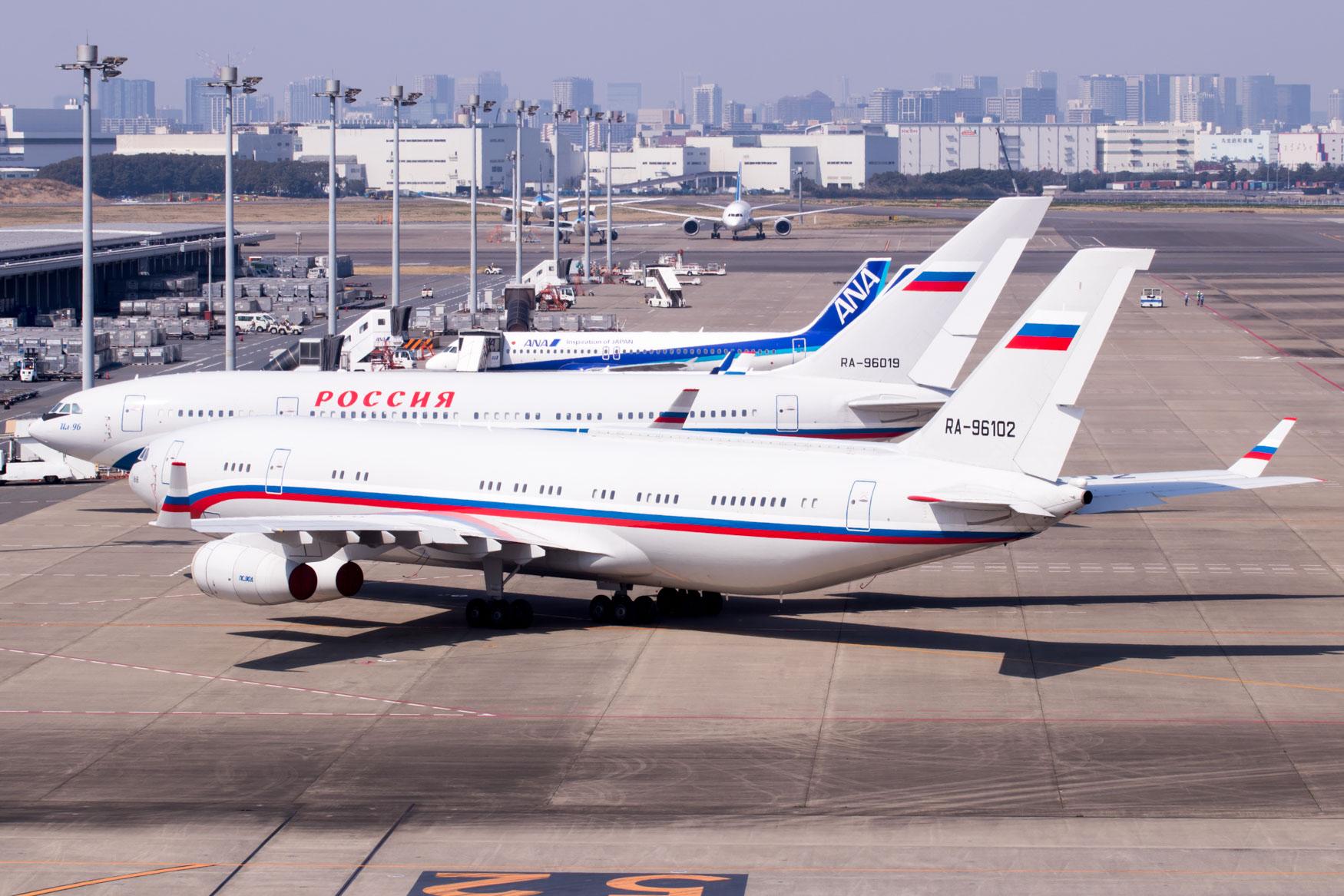 Russian Ministry of Defense Ilyushin Il-96-400