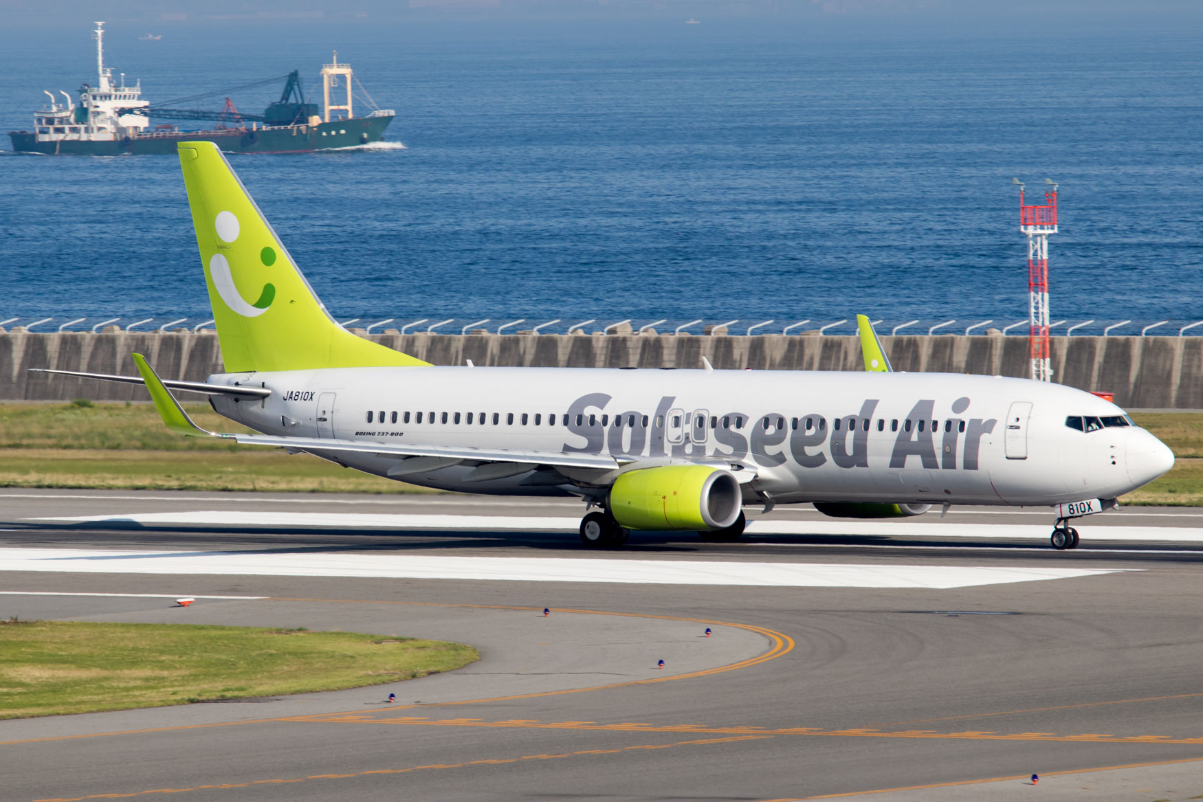 Solaseed Air Boeing 737-800