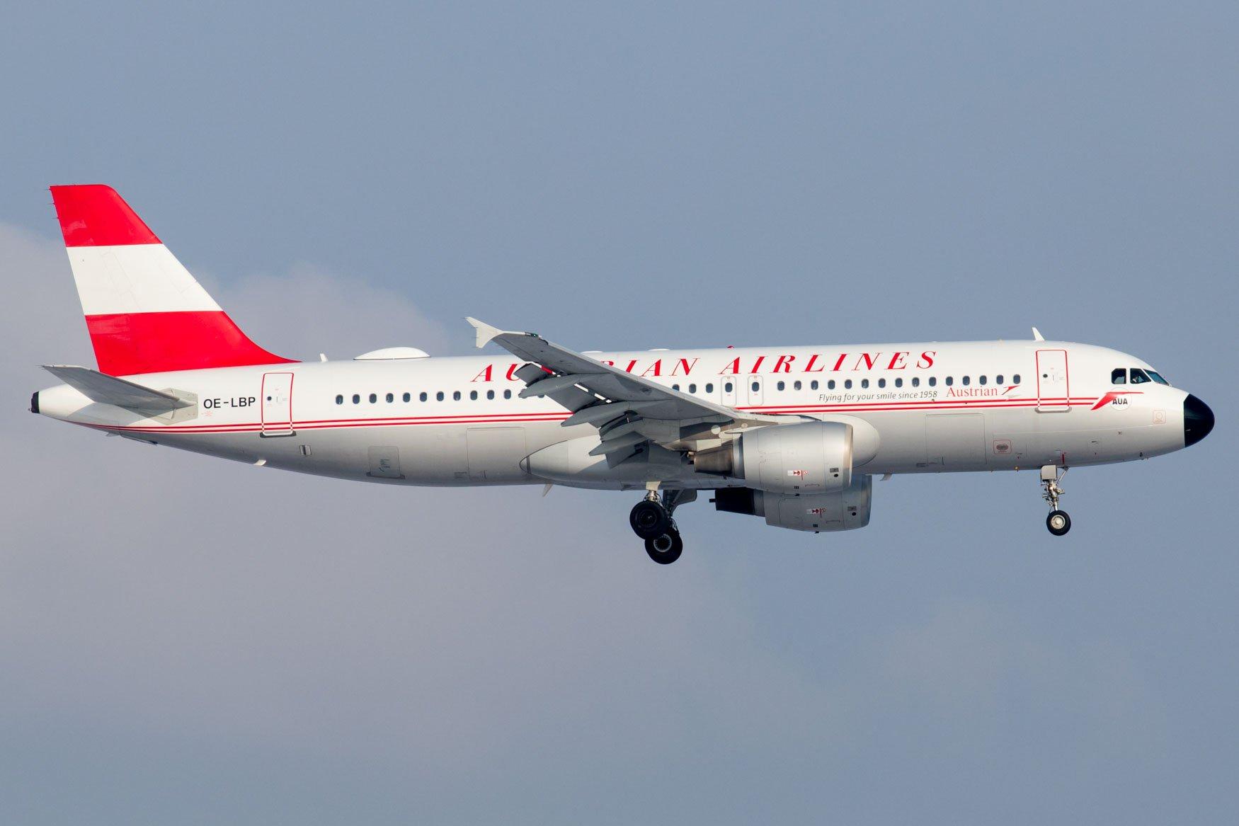 Austrian Airlines A320 Retro