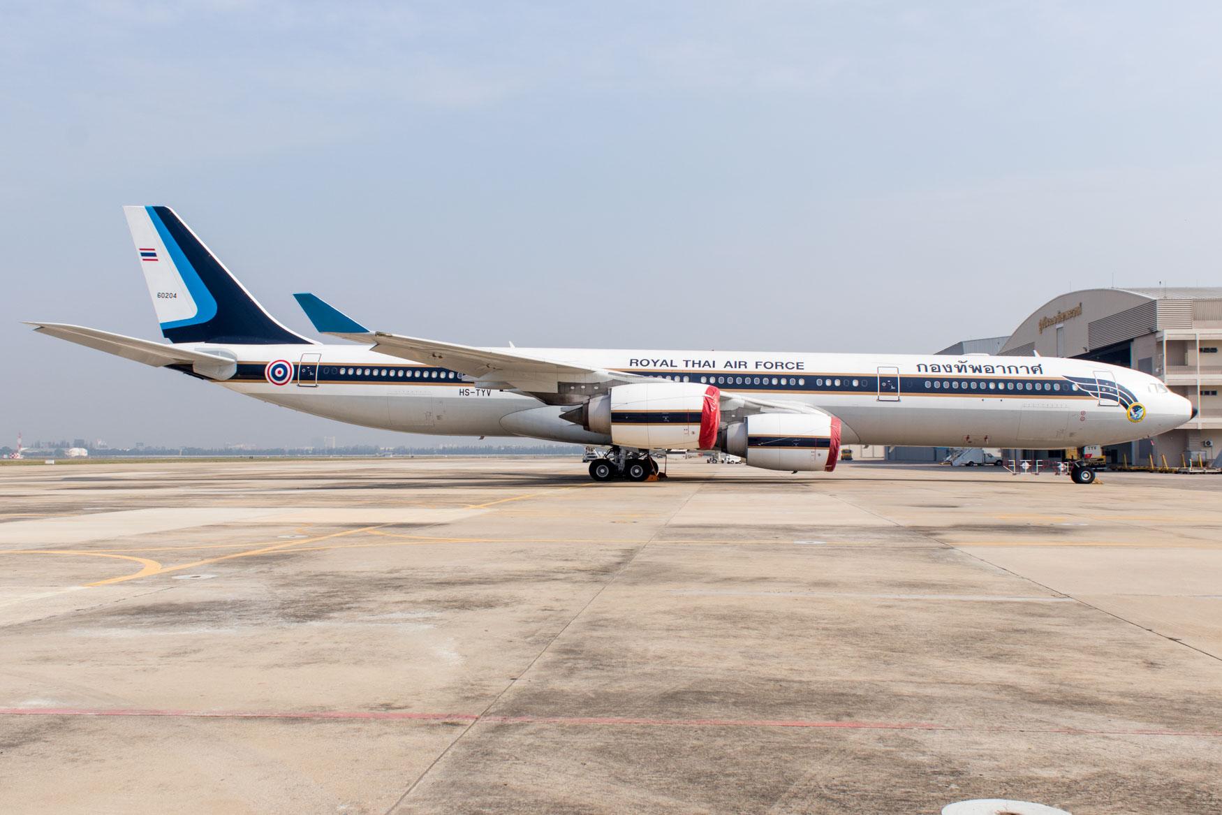 Thai Air Force Airbus A340-500
