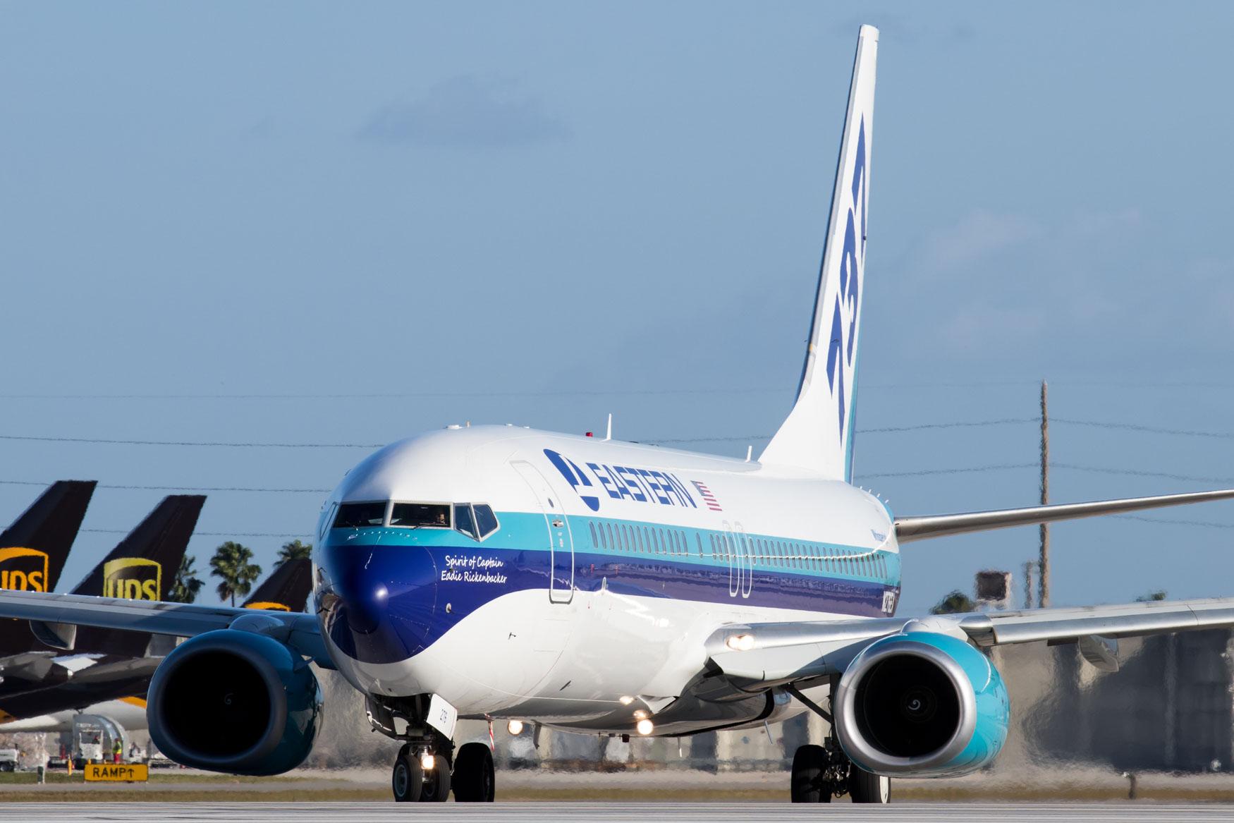 Eastern Air Lines Boeing 737-800