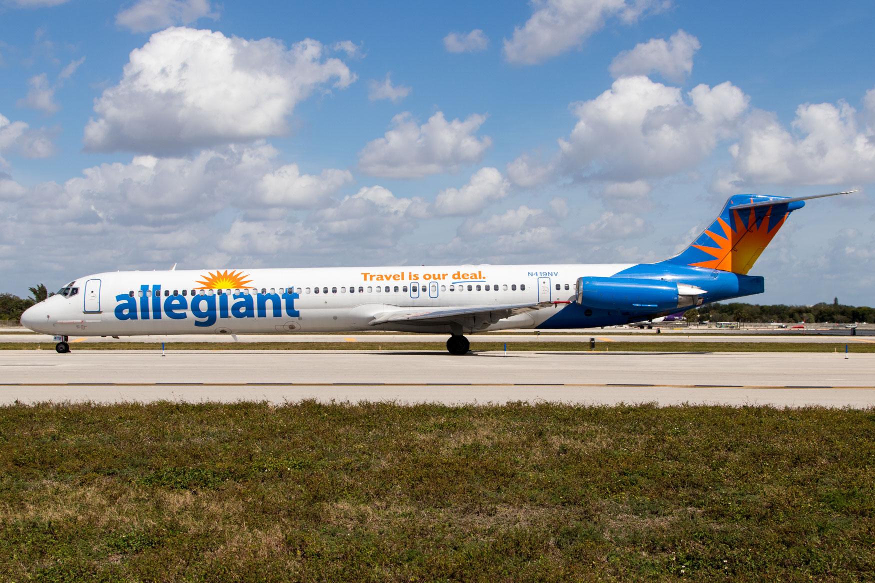 Allegiant MD-83